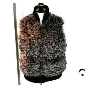 Jackets & Blazers - Reversible Faux Fur Vest